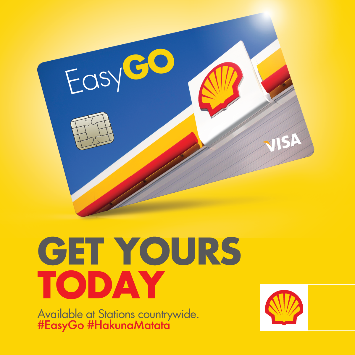 Easy Go Launch at Shell Kiira Road
